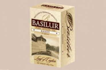 Чай basilur лист цейлона dimbula pekoe ирландский крем 125г